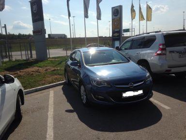 Opel Astra, 2013