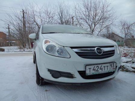 Opel Corsa 2010 - отзыв владельца