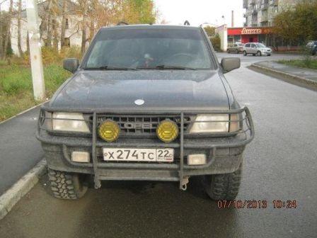 Opel Frontera 1996 - отзыв владельца