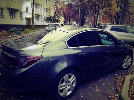 Opel Insignia 2008 - отзыв владельца