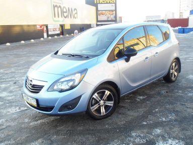 Opel Meriva 2013 отзыв автора | Дата публикации 10.03.2015.