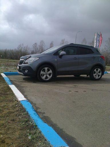 Opel Mokka 2014 отзыв автора | Дата публикации 21.05.2014.