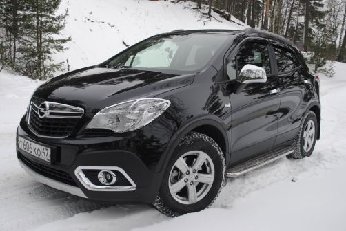 Opel Mokka 2013 - отзыв владельца