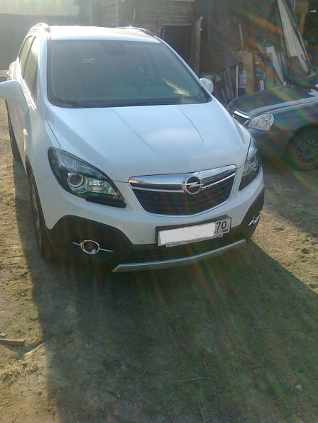 Opel Mokka 2014 - отзыв владельца