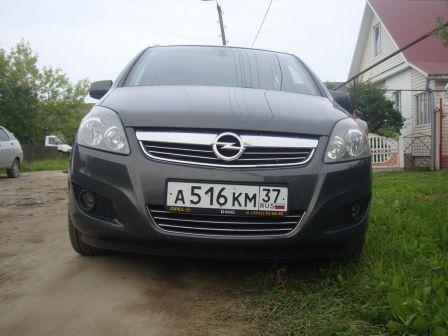 Opel Zafira 2013 - отзыв владельца