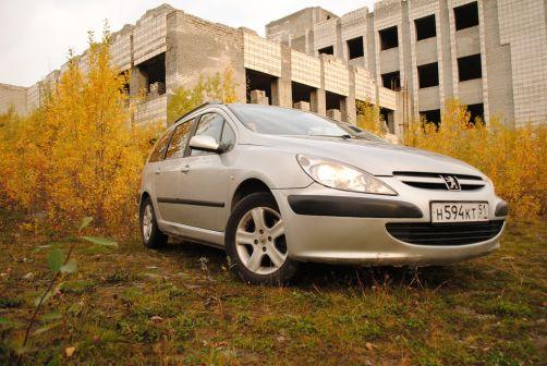 Peugeot 307 2003 - отзыв владельца