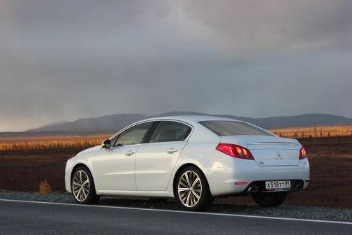 Peugeot 508 2012 - отзыв владельца