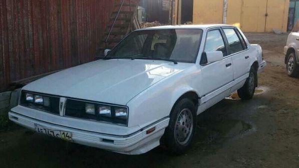 Pontiac 6000 1986 - отзыв владельца