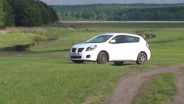 Pontiac Vibe 2008 - отзыв владельца