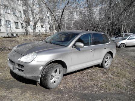 Porsche Cayenne 2004 - отзыв владельца