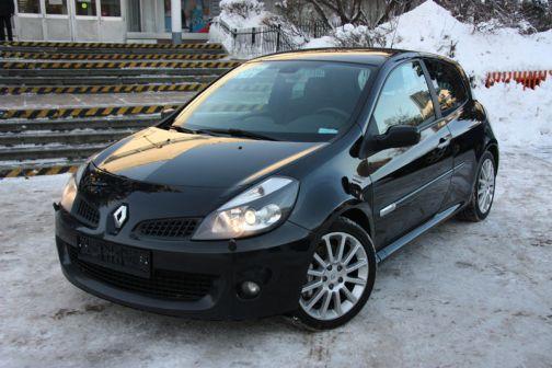 Renault Clio 2008 - отзыв владельца