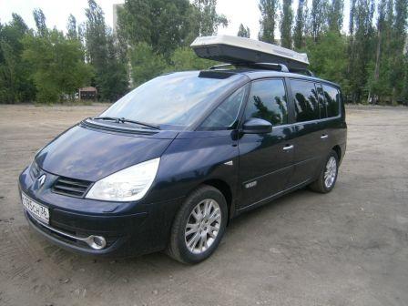Renault Espace 2007 - отзыв владельца