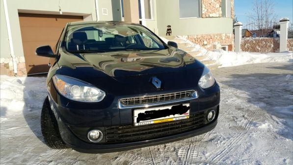 Renault Fluence 2011 - отзыв владельца