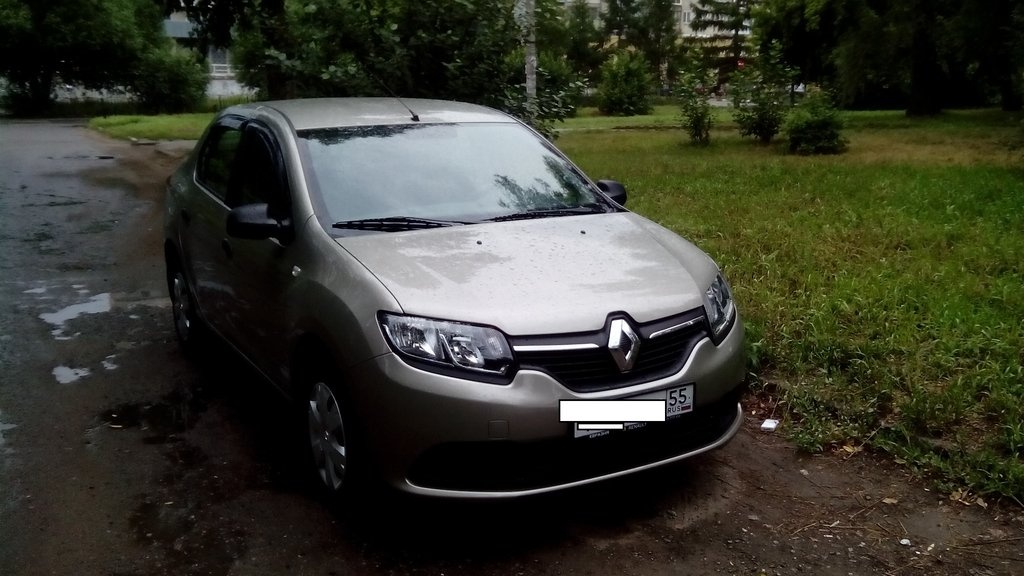 отзывы renault logan new 2014г.