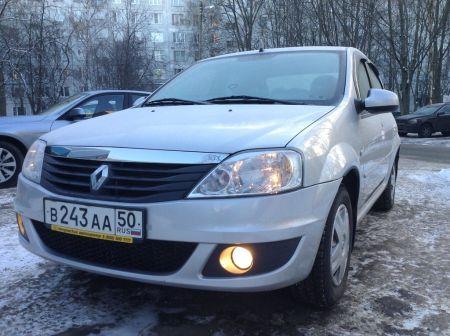 Renault Logan 2013 - отзыв владельца