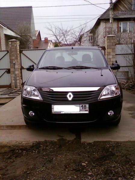 Renault Logan 2012 - отзыв владельца