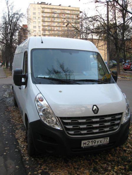 Renault Master 2013 - отзыв владельца