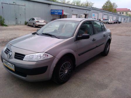 Renault Megane 2004 - отзыв владельца