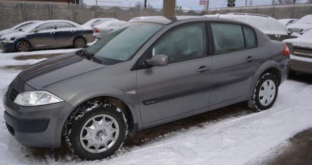 Renault Megane 2005 - отзыв владельца