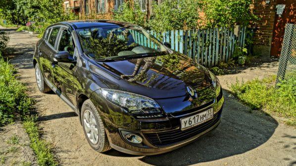 Renault Megane 2014 - отзыв владельца
