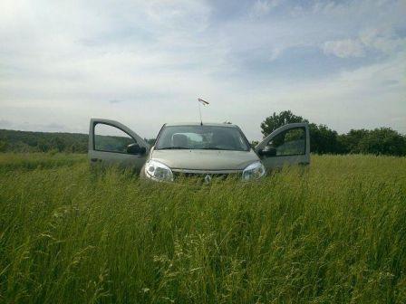 Renault Sandero 2013 - отзыв владельца