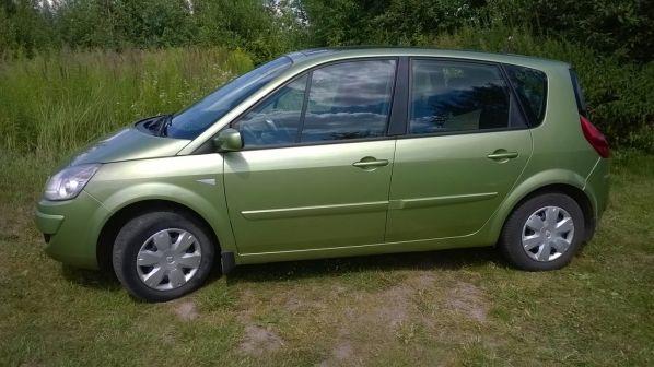 Renault Scenic 2009 - отзыв владельца