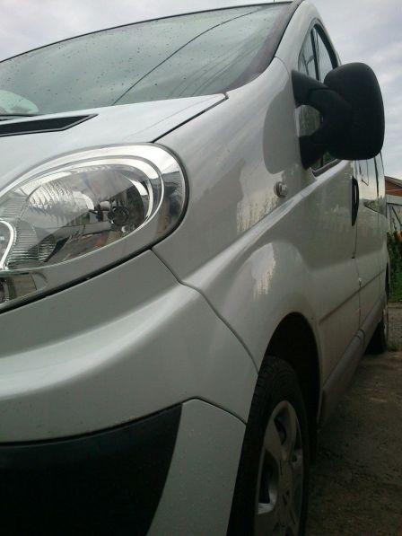 Renault Trafic 2010 - отзыв владельца