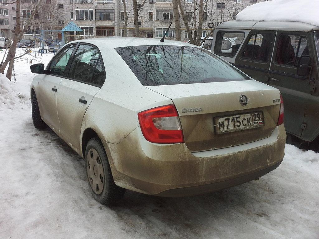 Прошу прощения что машина грязная, но она только что проехала 700км)))