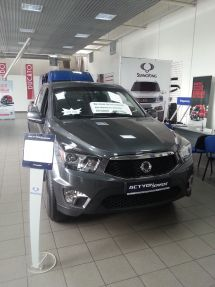 SsangYong Actyon Sports, 2014