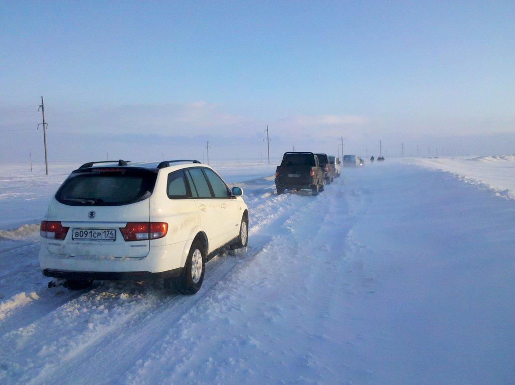 """Иргиз-Карабутак, дорога \""""Шёлковый Путь\""""."""