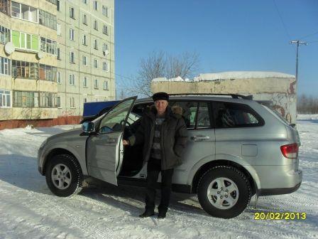 SsangYong Kyron 2012 - отзыв владельца