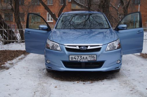 Subaru Exiga 2011 - отзыв владельца