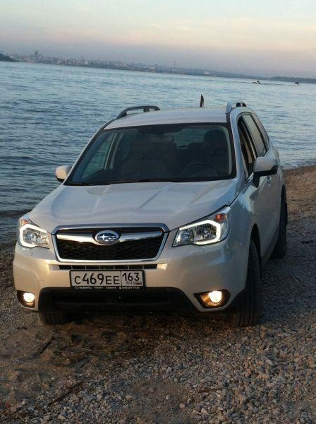 Subaru Forester 2014 - отзыв владельца