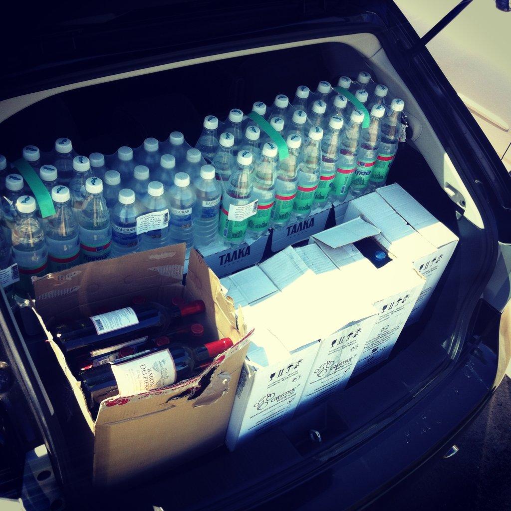 А говорят багажник маленький, нормальный багажник!))