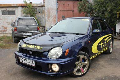 Subaru Impreza, 2001