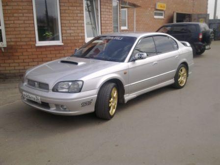 Subaru Legacy 2000 - отзыв владельца