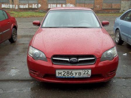 Subaru Legacy 2004 - отзыв владельца