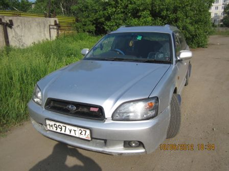 Subaru Legacy 2001 - отзыв владельца