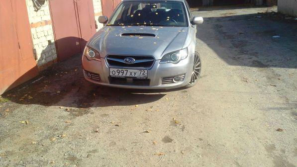 Subaru Legacy 2008 - отзыв владельца