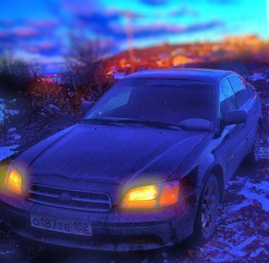 Subaru Legacy B4 2001 отзыв автора | Дата публикации 25.11.2014.