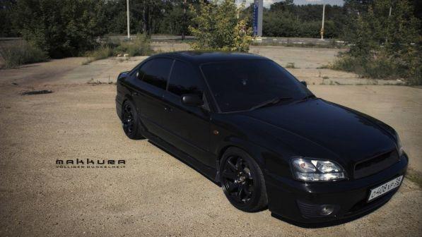 Subaru Legacy B4 2001 - отзыв владельца