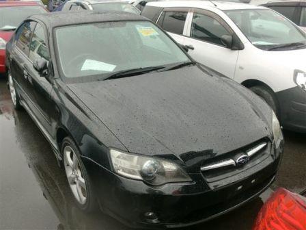 Subaru Legacy B4 2004 - отзыв владельца