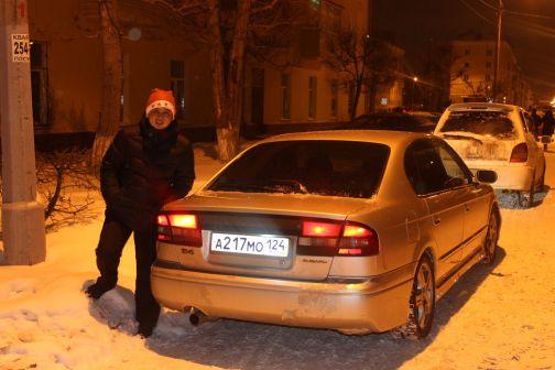 Subaru Legacy B4 2000 - отзыв владельца