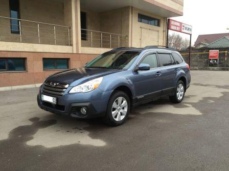 Subaru Outback 2013 - отзыв владельца