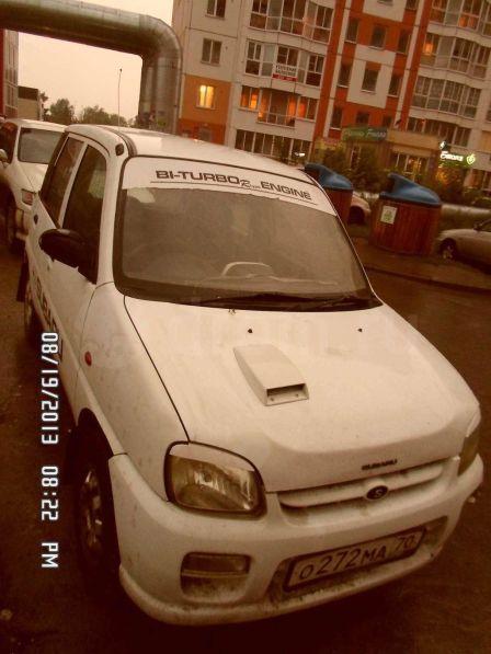Subaru Pleo 1999 - отзыв владельца