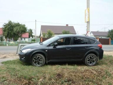 Subaru XV 2012 отзыв автора | Дата публикации 14.07.2013.