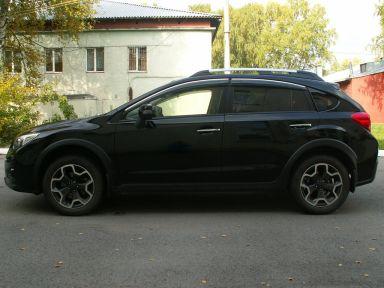 Subaru XV 2012 отзыв автора | Дата публикации 11.09.2014.