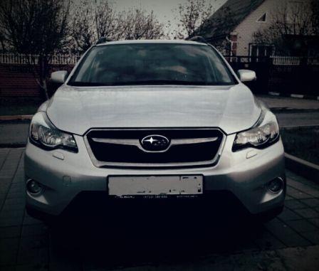 Subaru XV 2014 - отзыв владельца