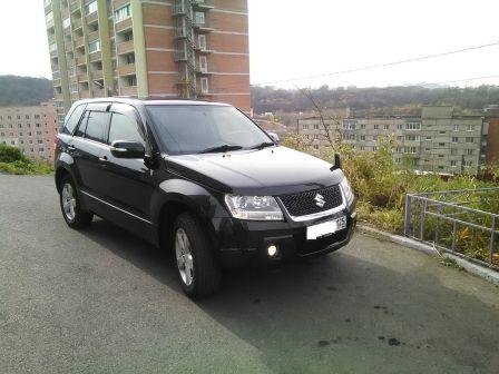 Suzuki Escudo 2008 - отзыв владельца