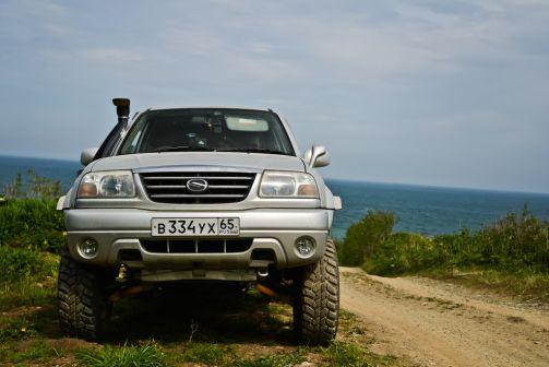 Suzuki Grand Escudo 2002 - отзыв владельца
